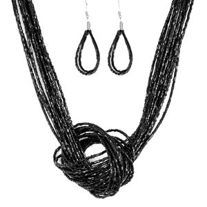 Knotted knockout -Black